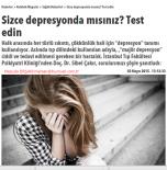 Sizce Depresyonda mısınız? Test edin – Hürriyet/ 03.05.2015