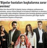'Bipolar hastaları başkalarına zarar vermez' – Hürriyet/ 05.04.2015
